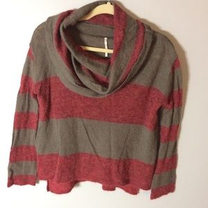 FREE PEOPLE Alpaca Blend Cowl Neck Sweater